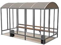 Курительная кабина серии К-15