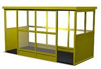 Курительная кабина серии К-18